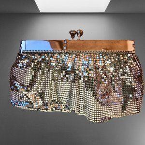 Glomesh Metal Mesh Clutch Bag Vintage Australia